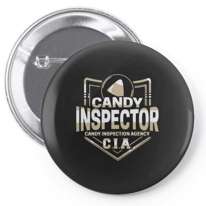 Candy Inspector Pin-back Button Designed By Arsyad