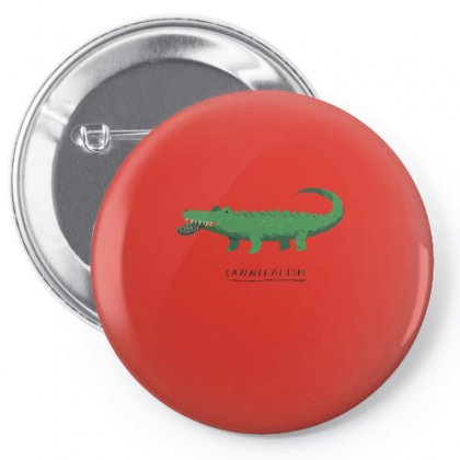 Cannibal Croc T Shirt Funny Crocodile Tee Pin-back Button Designed By Arsyad