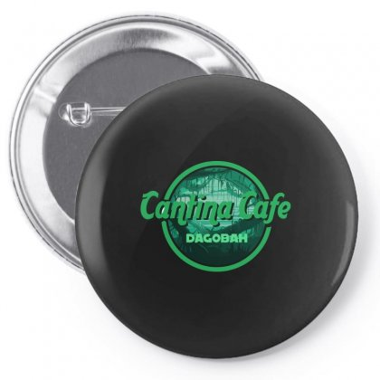 Cantina Cafe Dagobah Pin-back Button Designed By Arsyad
