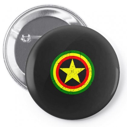 Captain Rasta Pin-back Button Designed By Arsyad