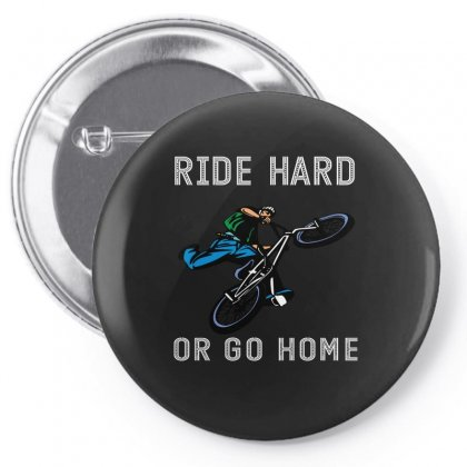 Ride Hard Or Go Home Pin-back Button Designed By Wizarts