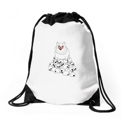 Cat It Drawstring Bags Designed By Arsyad