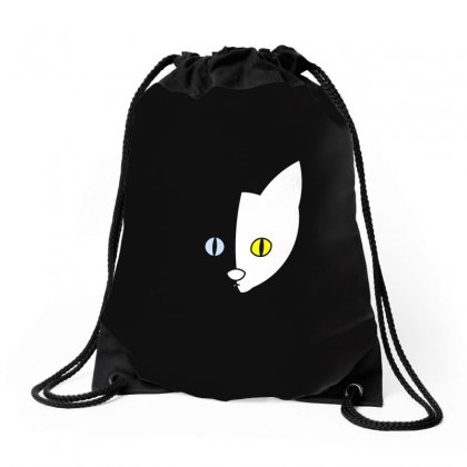 Cat Drawstring Bags Designed By Arsyad