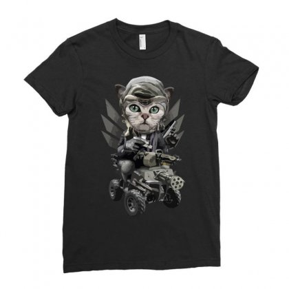 Catlord Ladies Fitted T-shirt Designed By Arsyad