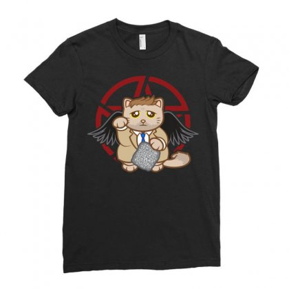 Catstiel Ladies Fitted T-shirt Designed By Arsyad