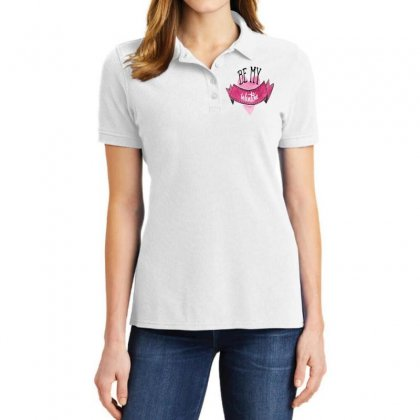 Be My Valentine Ladies Polo Shirt Designed By Perfect Designers