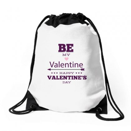 Be My Valentine Drawstring Bags Designed By Perfect Designers