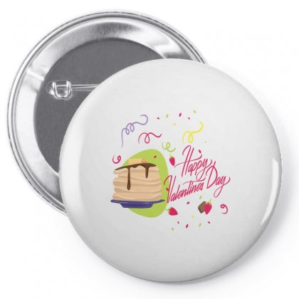 Happy Valentines (1) Pin-back Button Designed By Perfect Designers