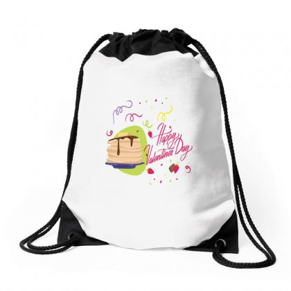 Happy Valentines (1) Drawstring Bags Designed By Perfect Designers