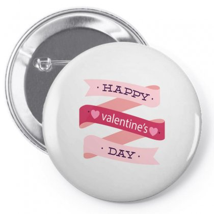 Happy Valentines Day Pin-back Button Designed By Perfect Designers