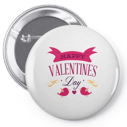 Happy Valentines Pin-back Button Designed By Perfect Designers