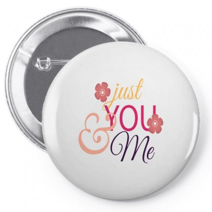 Just You And Me Pin-back Button Designed By Perfect Designers