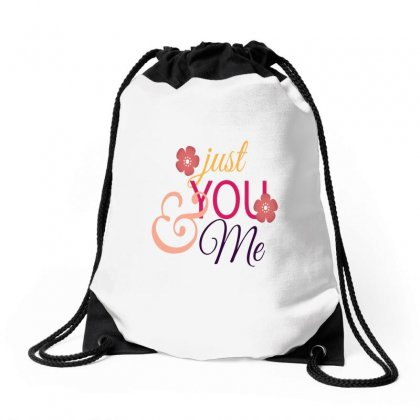 Just You And Me Drawstring Bags Designed By Perfect Designers