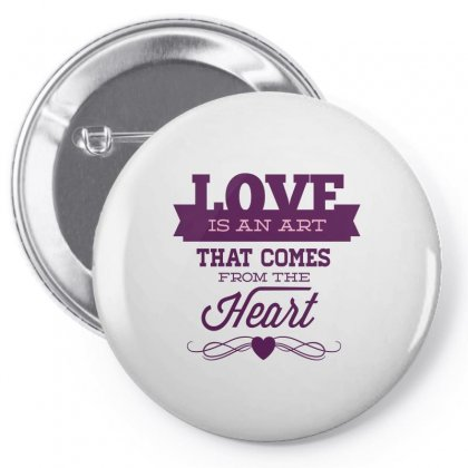 Love Is An Art Pin-back Button Designed By Perfect Designers