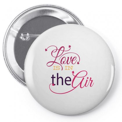 Love Is In The Air Pin-back Button Designed By Perfect Designers