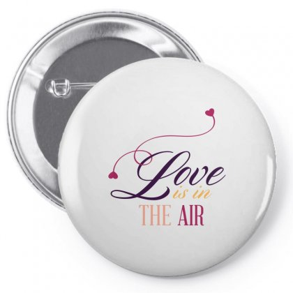 Love In The Air Pin-back Button Designed By Perfect Designers
