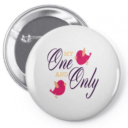 My One And Only Bird Love Pin-back Button Designed By Perfect Designers