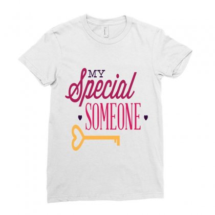 My Special Someone Ladies Fitted T-shirt Designed By Perfect Designers