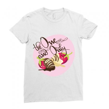 One Only Ladies Fitted T-shirt Designed By Perfect Designers