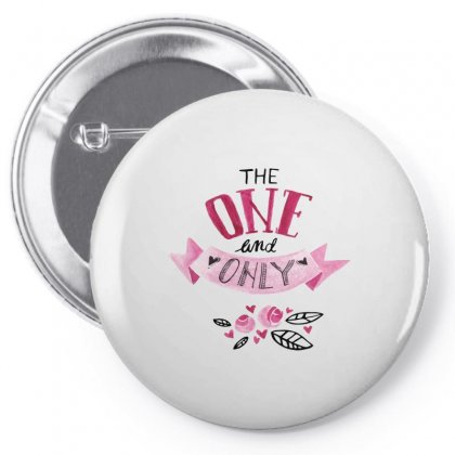 The One And Only Pin-back Button Designed By Perfect Designers