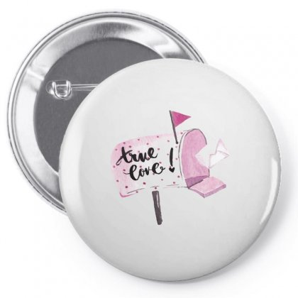 True Love Mail Pin-back Button Designed By Perfect Designers