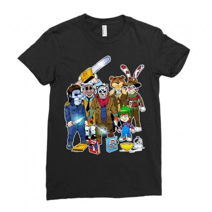 Cereal Killer Ladies Fitted T-shirt Designed By Arsyad