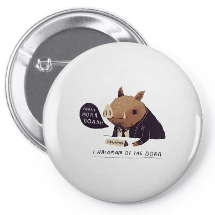 Chairman Of The Boar Pin-back Button Designed By Arsyad