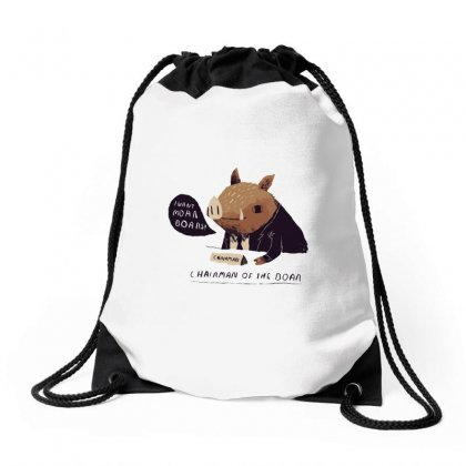 Chairman Of The Boar Drawstring Bags Designed By Arsyad