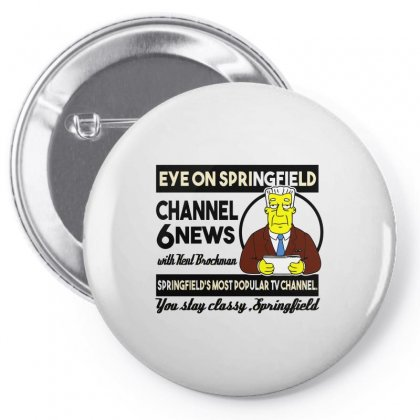 Channel 6 News Pin-back Button Designed By Arsyad