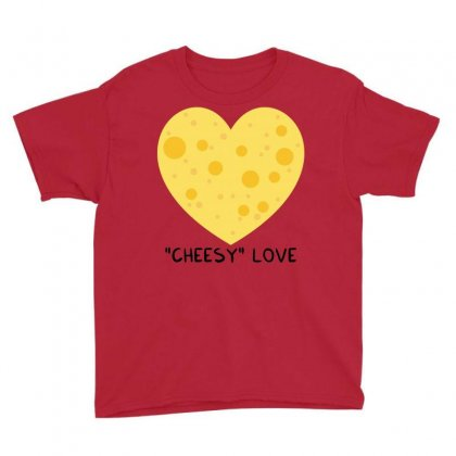 Cheesy Love Youth Tee Designed By Arsyad