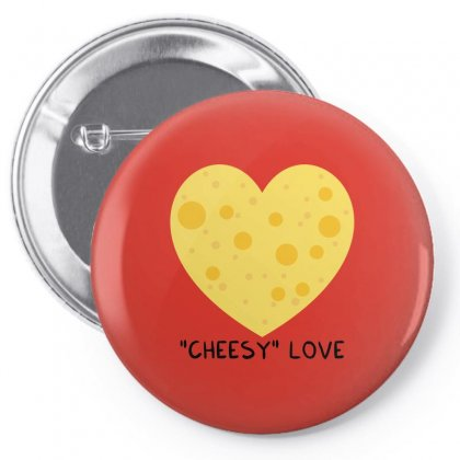 Cheesy Love Pin-back Button Designed By Arsyad