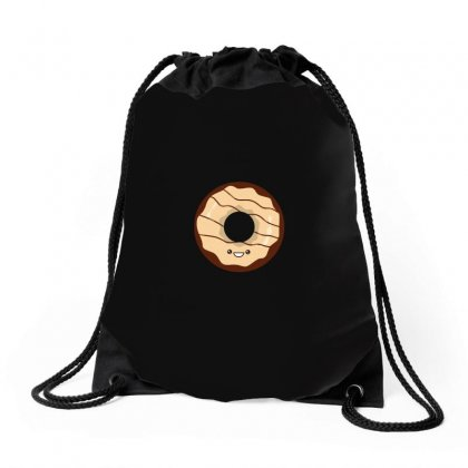 Chocolate Donut Drawstring Bags Designed By Arsyad