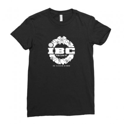 Christmas Television Network Ladies Fitted T-shirt Designed By Arsyad