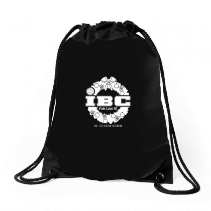Christmas Television Network Drawstring Bags Designed By Arsyad