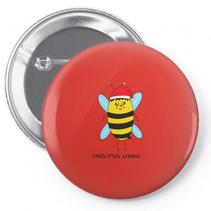 Christmas Wannabee Pin-back Button Designed By Arsyad