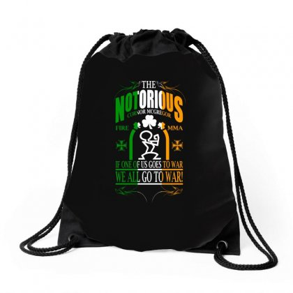 Mcgregor Quotes Drawstring Bags Designed By Animestars