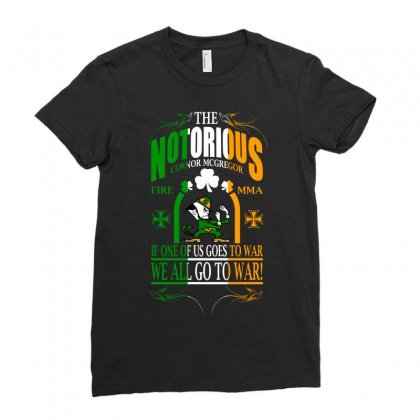 Mcgregor Quotes Ladies Fitted T-shirt Designed By Animestars
