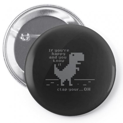 Clap Your Pin-back Button Designed By Arsyad