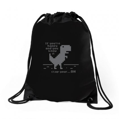 Clap Your Drawstring Bags Designed By Arsyad