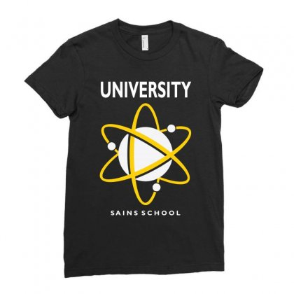 Midtown School Of Science And Technology Ladies Fitted T-shirt Designed By Animestars