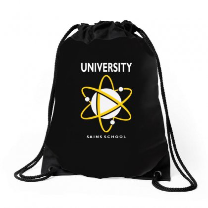 Midtown School Of Science And Technology Drawstring Bags Designed By Animestars