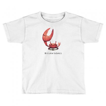 Claw Goals Toddler T-shirt Designed By Arsyad