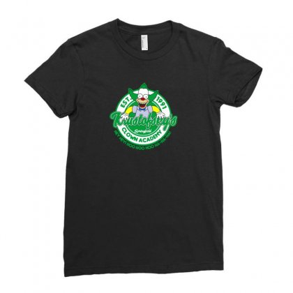 Clown Academy Ladies Fitted T-shirt Designed By Arsyad