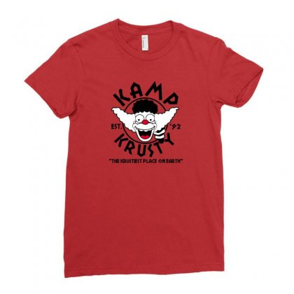 Clown Kamp Ladies Fitted T-shirt Designed By Arsyad