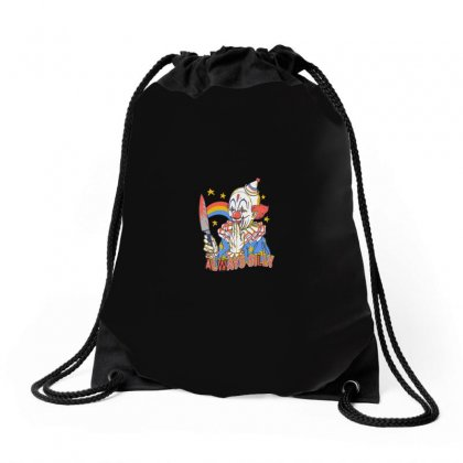 Clowns Are Silly Drawstring Bags Designed By Arsyad