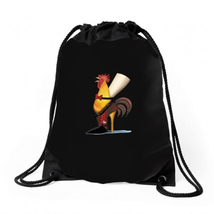 Cockadoodle Don't Rooster Shoe Drawstring Bags Designed By Arsyad