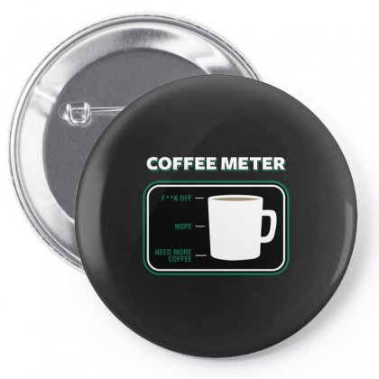 Coffee Meter Pin-back Button Designed By Arsyad