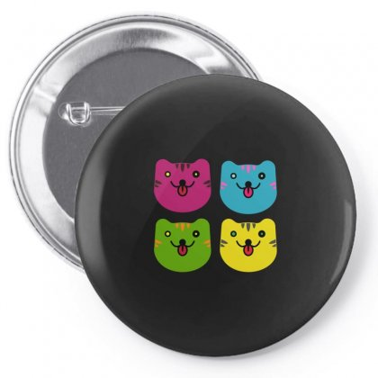 Colors Cats Pin-back Button Designed By Arsyad