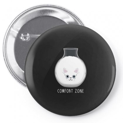 Comfort Zone! Pin-back Button Designed By Arsyad