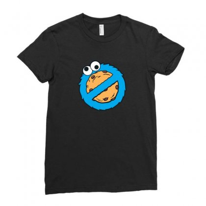 Cookiebuster Ladies Fitted T-shirt Designed By Arsyad